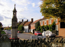 Burwash, High Street, Sussex © Kevin Gordon